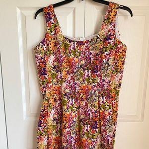 Jones New York Floral Dress Sz 16 EUC
